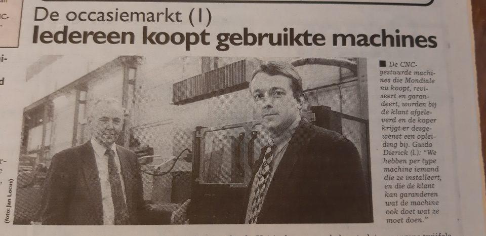 Vader Guido en zoon Karel Dierick blazen Mondiale nieuw leven in.