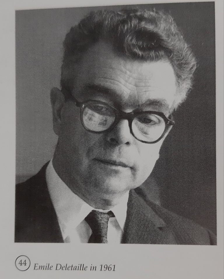 Emile Delataille, 44 jaar lang Directeur-Général van Mondiale